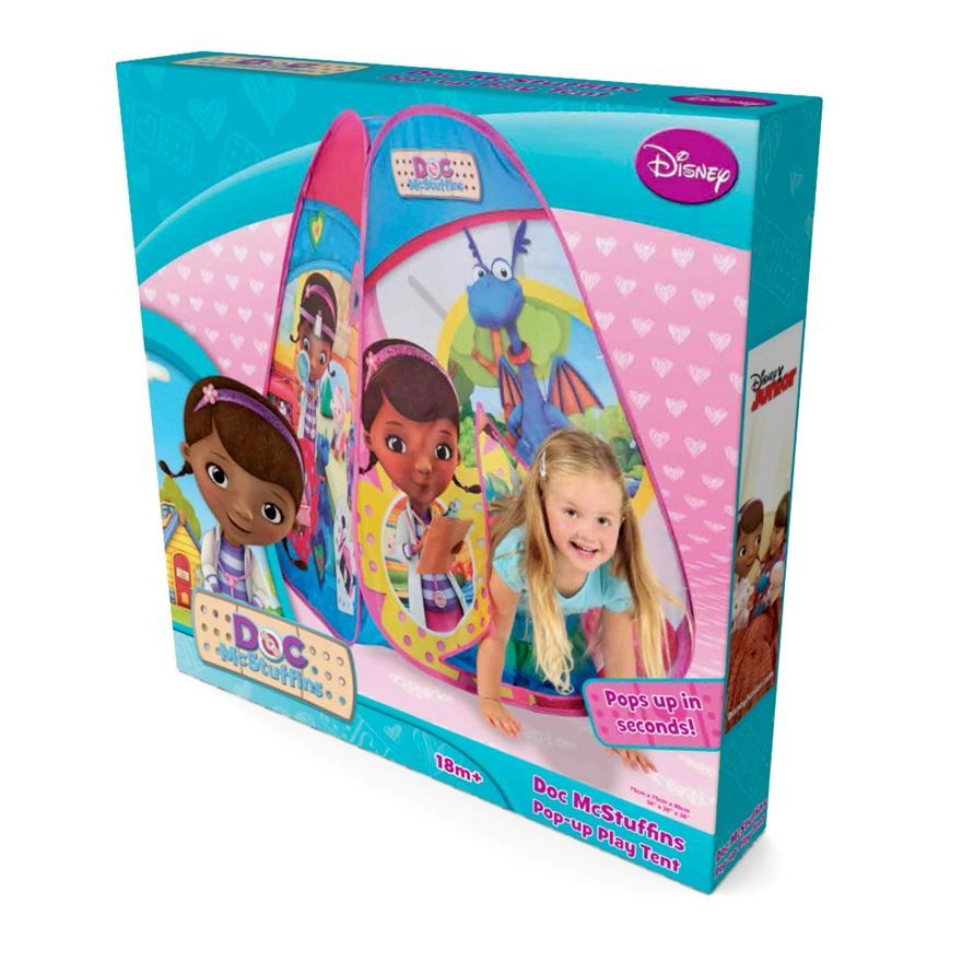 The Disneyu0027s Doc McStuffins Pop-Up tent is ideal for your little ones to play  sc 1 st  Pinterest & The Disneyu0027s Doc McStuffins Pop-Up tent is ideal for your little ...