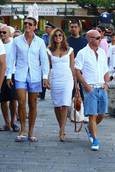 dd7244fac09 Eva Mendes Photos Photos - Eva Mendes And George Gargurevich Walking With Domenico  Dolce And Stefano Gabbana In Portofino, Italy - Zimbio