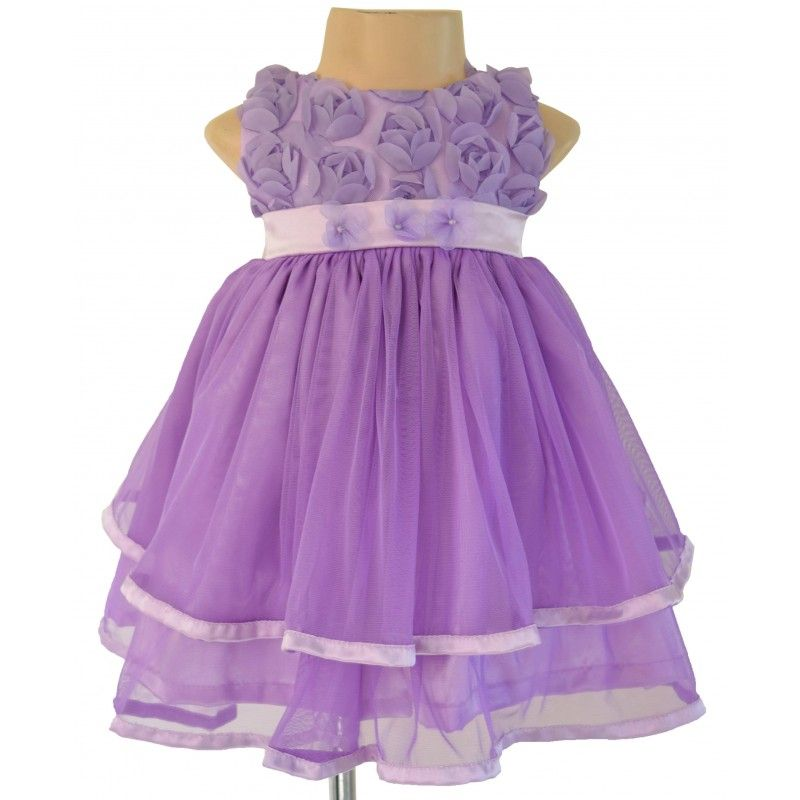 Shop the latest designer #KidsWear from our exclusive #ChildrenWear collections from Faye.https://www.faye.in/faye-lavender-soutache-tiered-dress