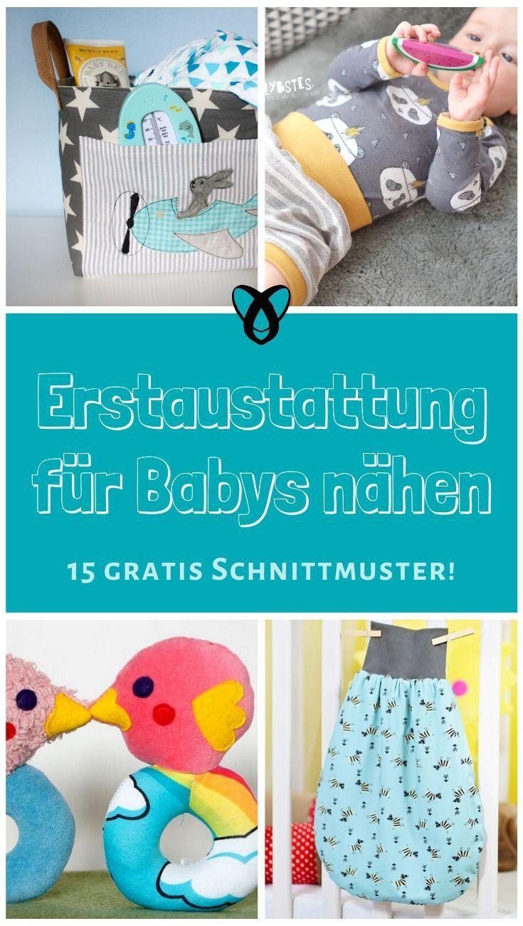 Photo of Erstausstattung für Babys nähen – Mein Blog