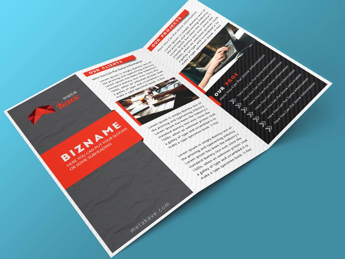 i will design bifold trifold brochure restaurant menu pamphlet