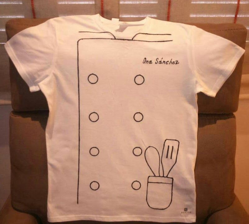 Disfraz de chef chef costume via the world kats - Chaquetas de cocina originales ...