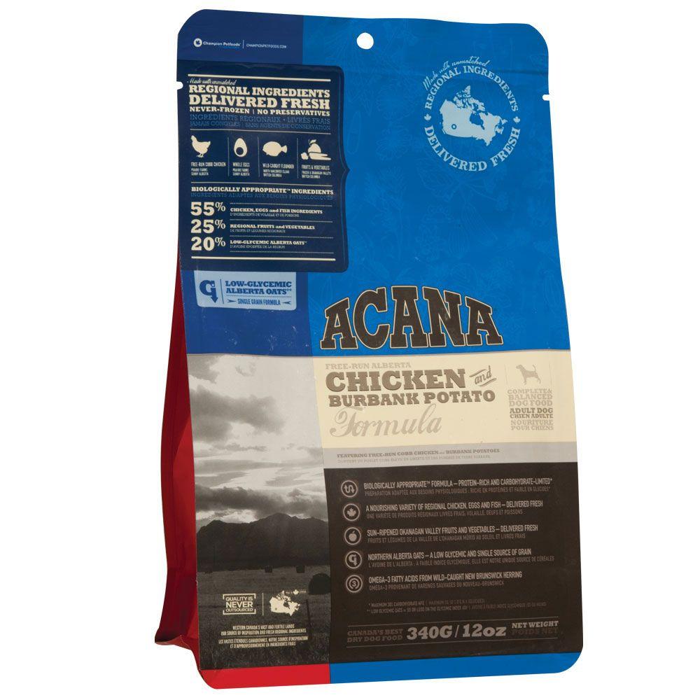 Acana Chicken Burbank Potato Dog Food Buy Adult Dog Food Online