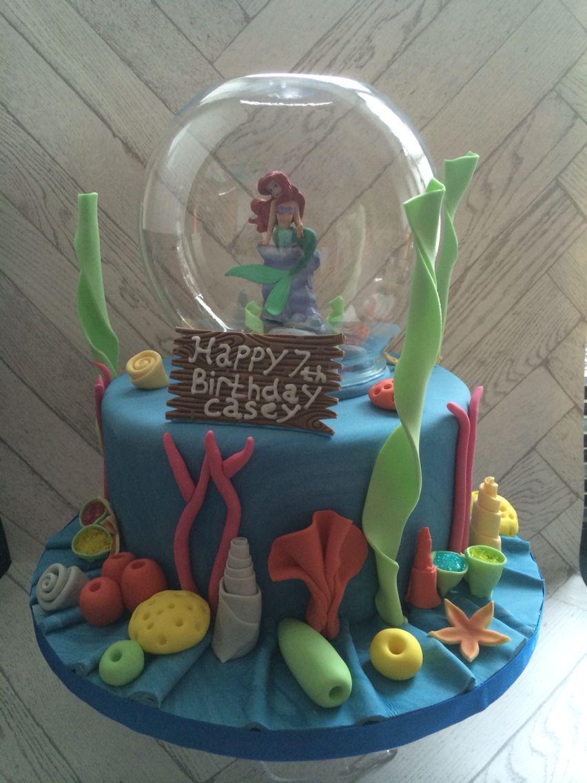 little mermaid cake publix
