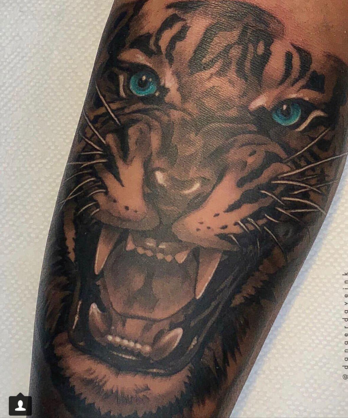 Pin By Diorbabe On I N K C A S H Dark Skin Tattoo Body Art Tattoos Tiger Tattoo