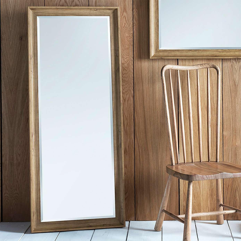 Fraser Oak 153x65cm Leaner Mirror Leaner Mirror Mirror
