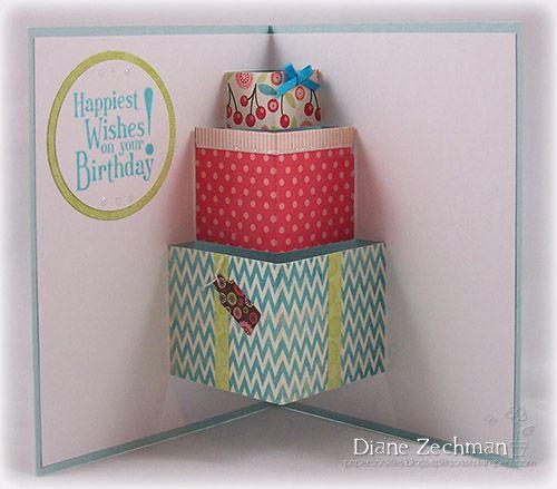 Pop Up Presents Birthday Card Printable Birthday Card Template Free Cool Birthday Cards