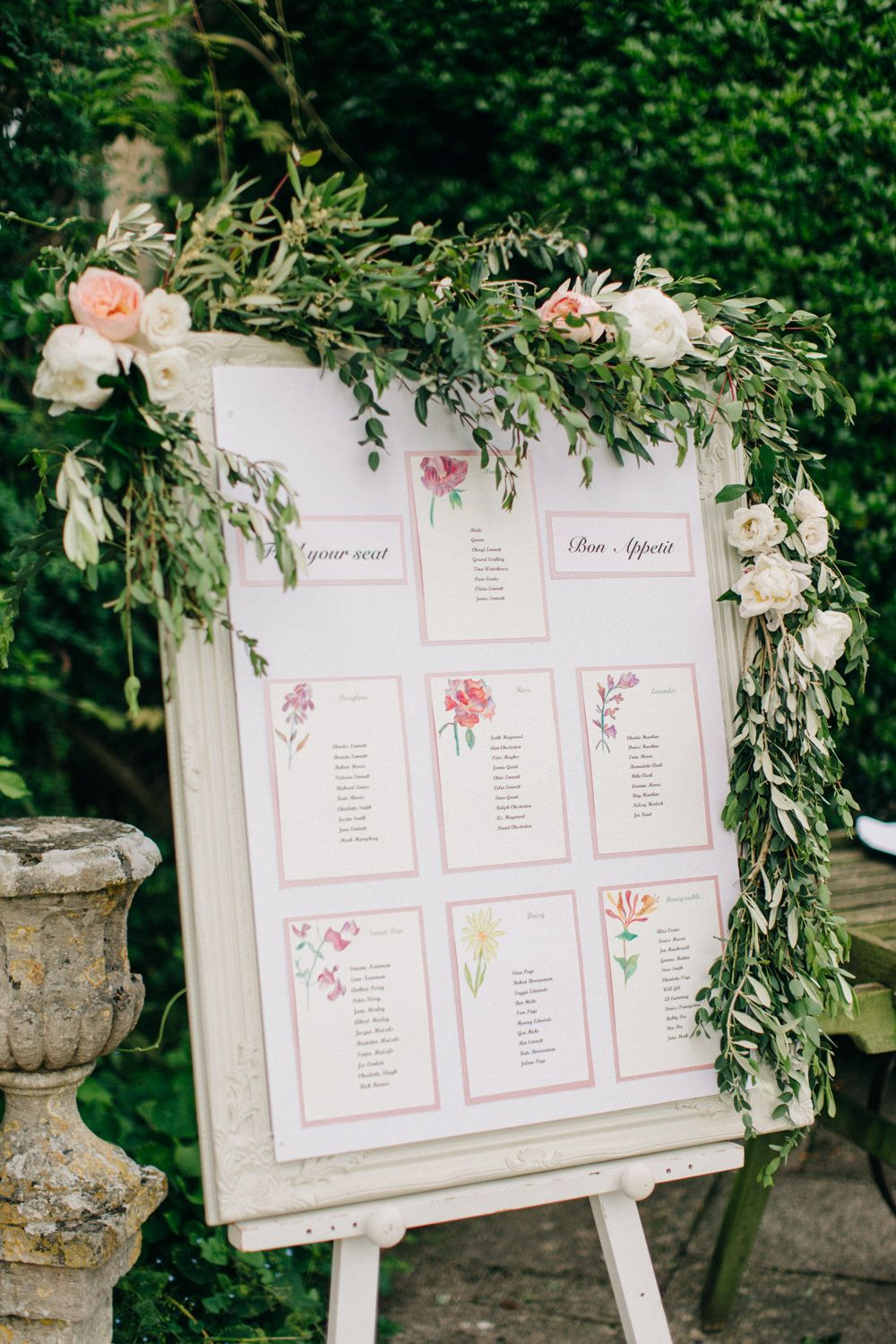 Outdoor Pastel Country Garden Wedding at Barnsley House in ...
