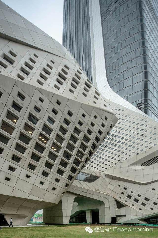 Zaha hadid nanjing youth olympic centre exterior china for Exterior edificios