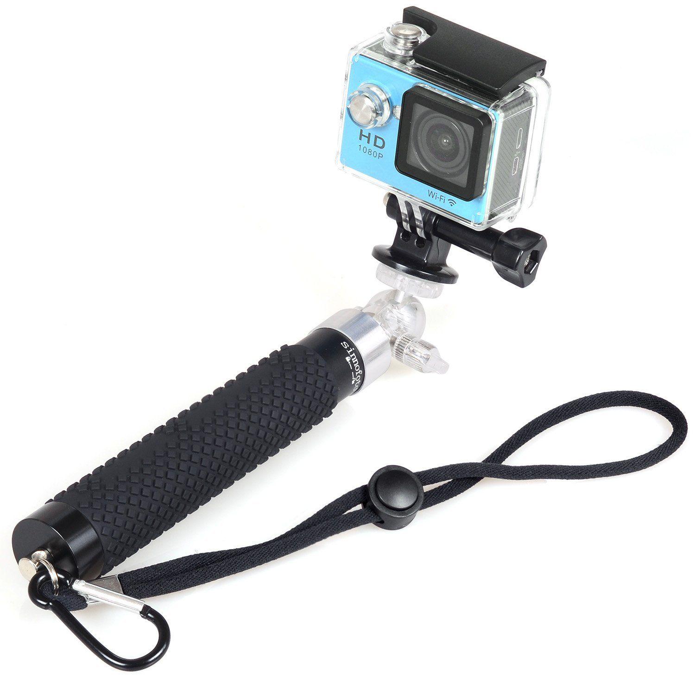 Sinnofoto S7 Extendable Selfie Stick(Black) Mini Handheld