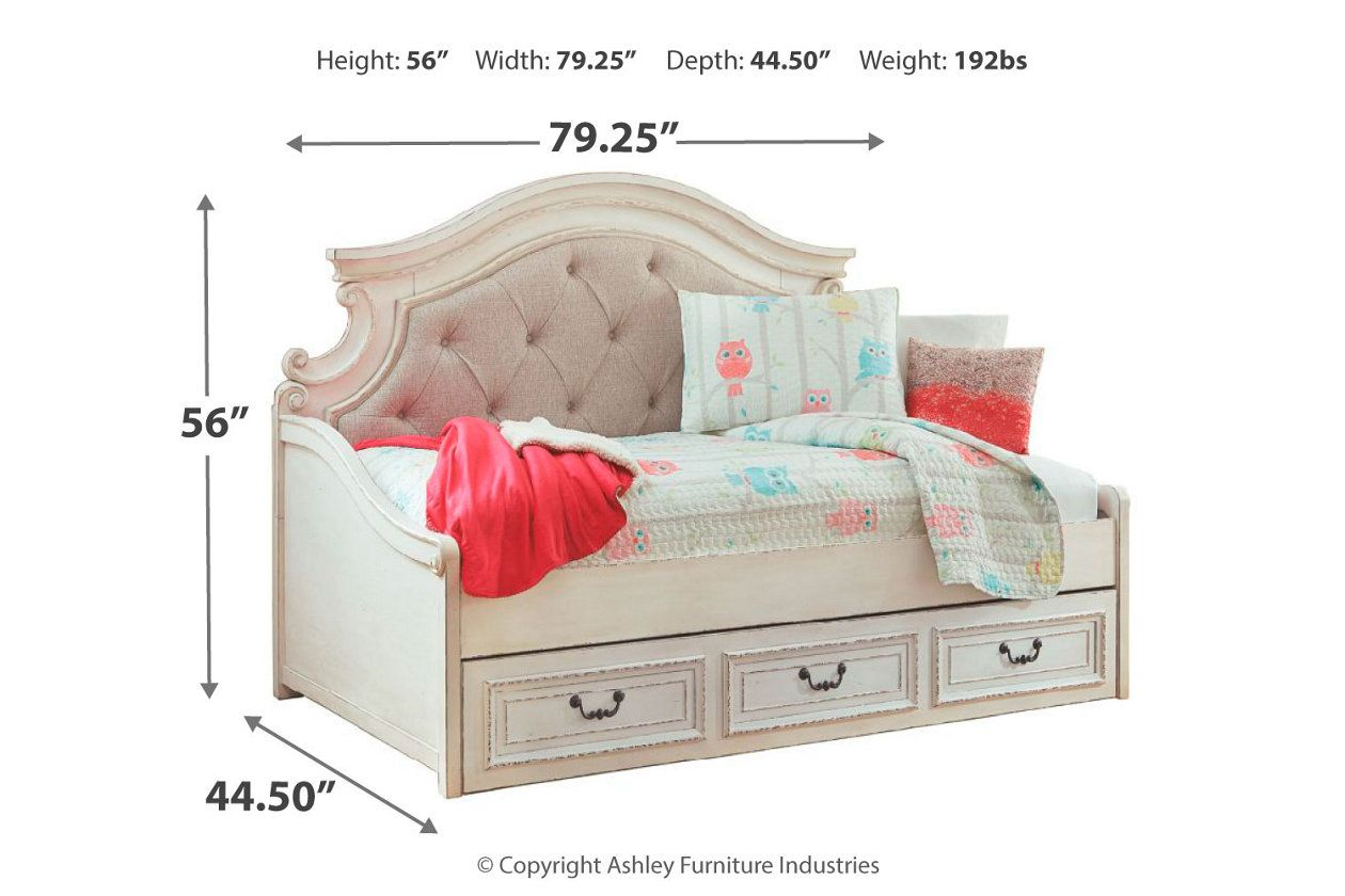 Best Realyn Twin Daybed With 1 Large Storage Drawer Bed 400 x 300