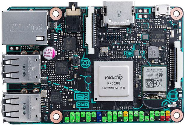 Asus Tinker Board Joins Raspberry Pi on the Bargain Table