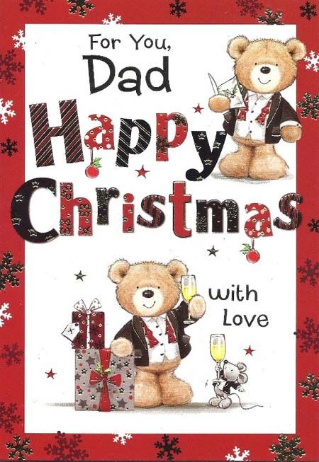 christmas poems for dad - Merry Christmas Dad