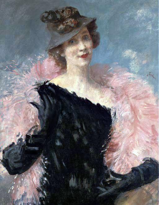 Portrait of Elizabeth Arden, by Augustus John (Welsh, 1878-1961).