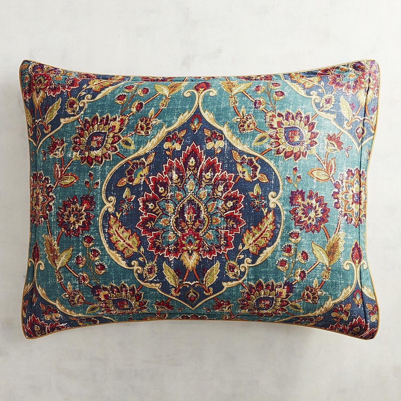 Ankari teal standard pillow sham products