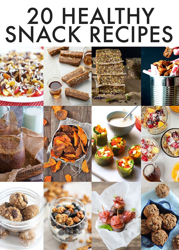 Healthy Snack Ideas (Lexi's Clean Kitchen)   Healthy food ...