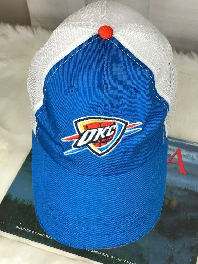 reputable site 218c7 9e050 OKC Oklahoma City US Cellular White Mesh Blue Baseball Men s Cap Pre-owned   BDa