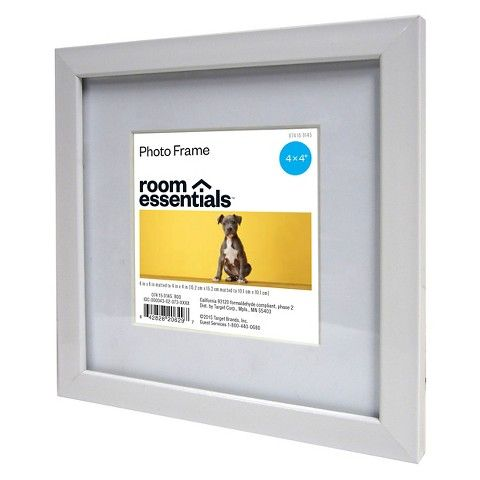 Photo Frame 6x6 Mat to 4x4 Instagram - White (Target) [to frame ...