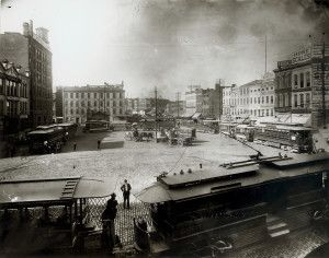 Washington Avenue and Third Street. (1890) Missouri History Museum