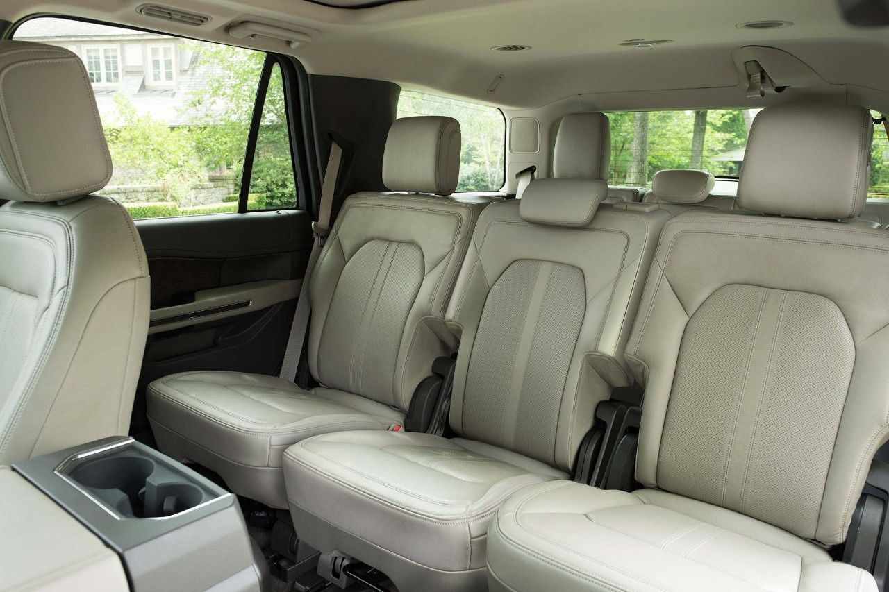 The All New 2018 Ford Expedition With The Second Row Seating Folded