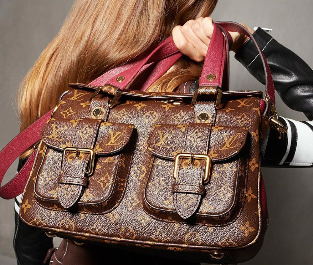 4d74dc5c2fc Louis Vuitton Has Relaunched the Manhattan Bag with a Whole New Look -  PurseBlog