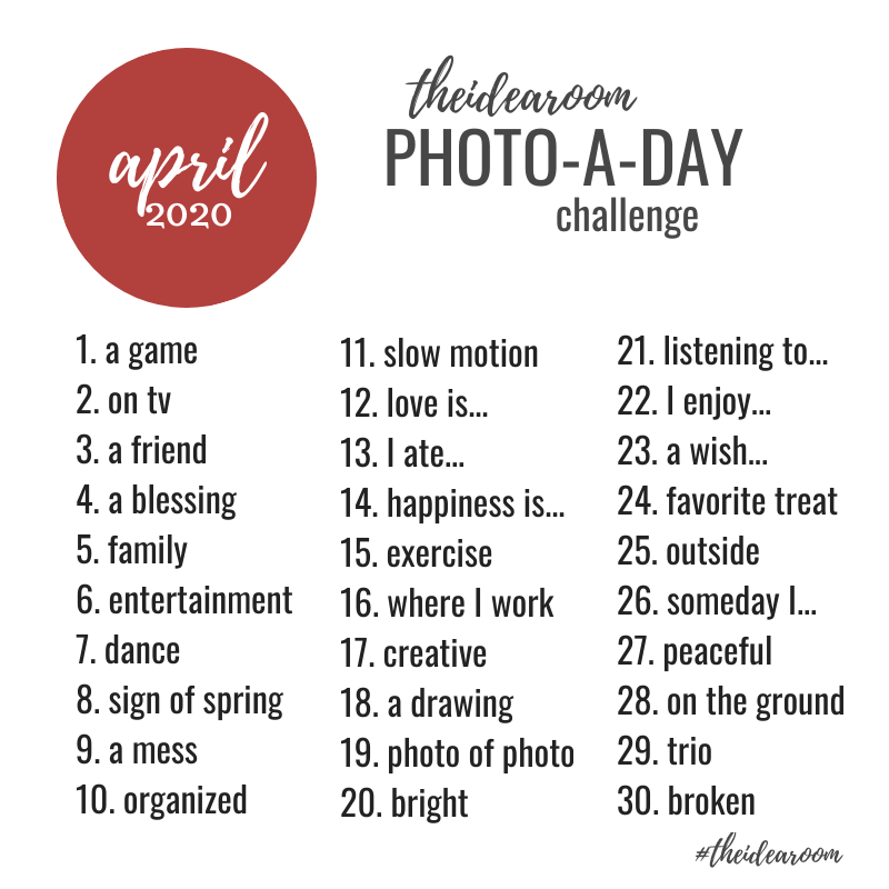 April Photo of the Day Challenge 2020