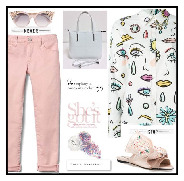"""""""May n. 2 - she's got it"""" by martinambf on Polyvore featuring moda, Boutique Moschino e Jimmy Choo"""