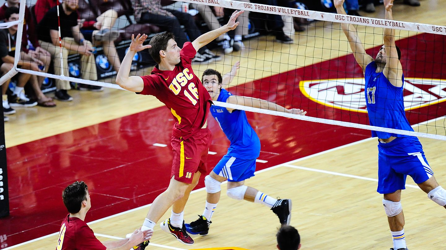 Los Angeles Feb 4 Free Usc Men S Volleyball Mens Volleyball