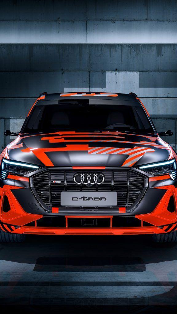 Audi E Tron Sportback Prototype Concept Cars 4k Ultra Hd Mobile Wallpaper Concept Cars Audi E Tron 4 Door Sports Cars