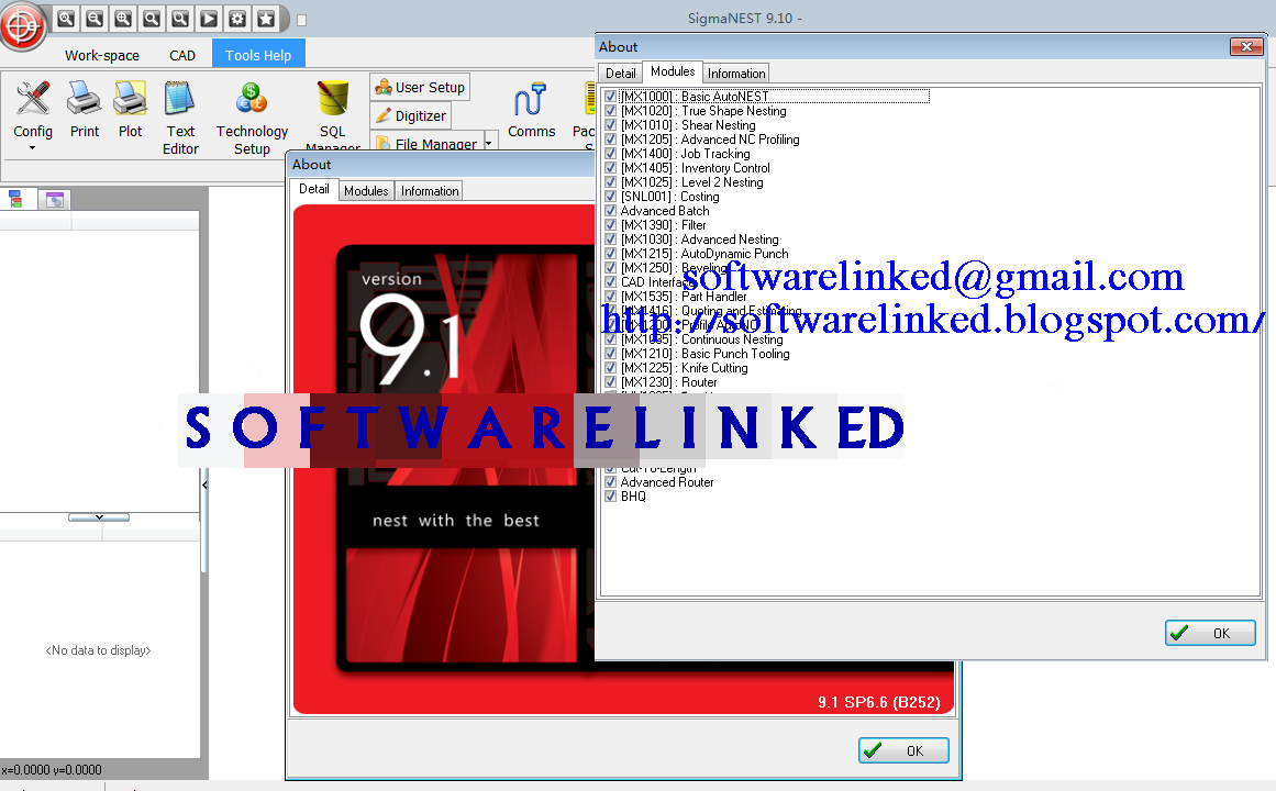 Sigmatek Sigmanest v9.1 SP6.6 Download If you want more information ...