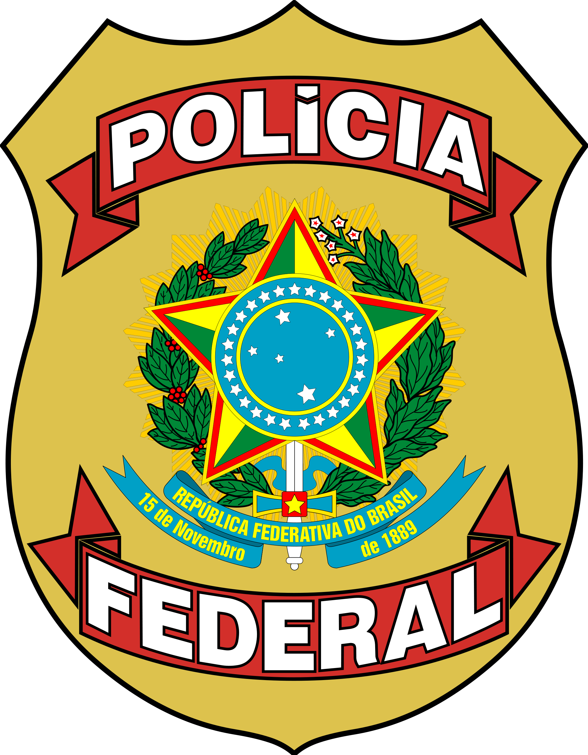 policia federal badge police pinterest federal