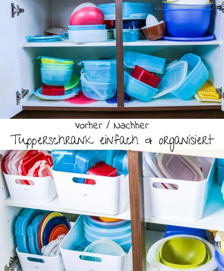 Frischhaltedosen und Tupperware k nnen ein riesen Chaos im Schrank verursachen Mit einfachen Trick Frischhaltedosen und Tupperware k nnen ein riesen Chaos im Schrank veru...