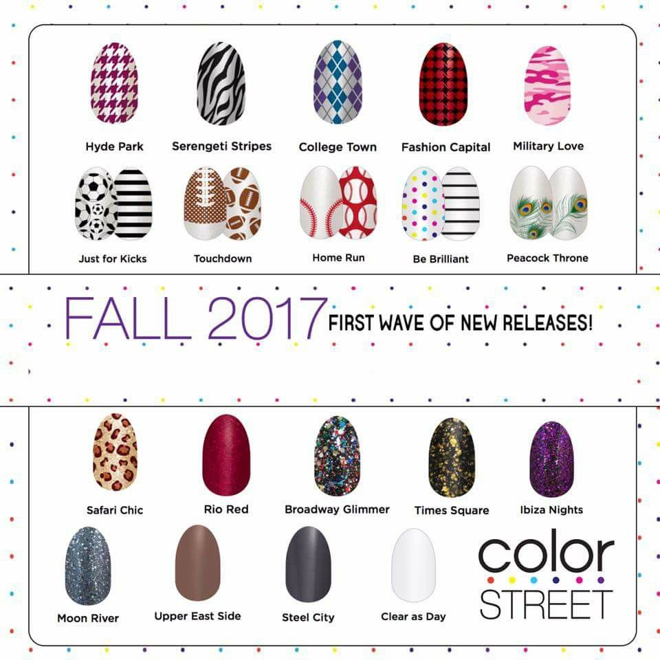 Fall 2017 (With images) | Color street nails, Color street ...
