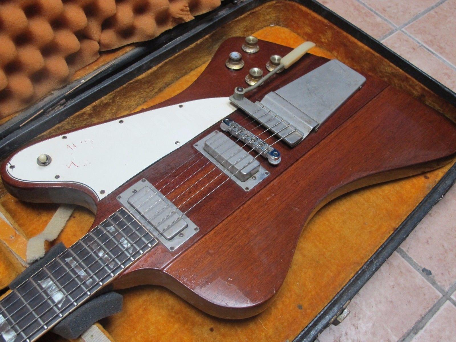 Vintage Rare 1964 Gibson Firebird V Reverse Wohsc Ebay Guitar