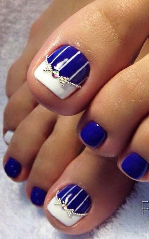 53 Summer Beach Toes Nail Designs For 2018 Nails Pinterest