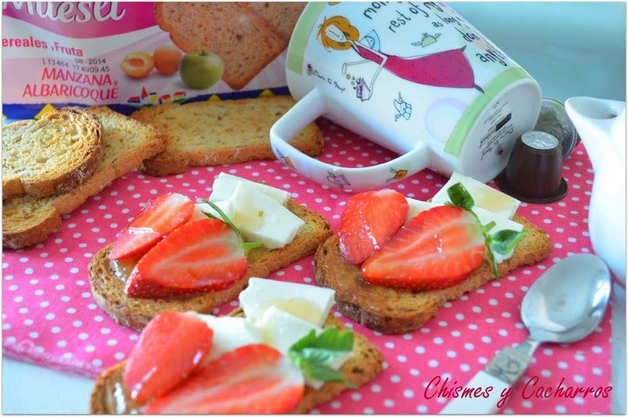 Chismes y Cacharros: Tostada para el desayuno con mermelada de pepino. (Degustabox)
