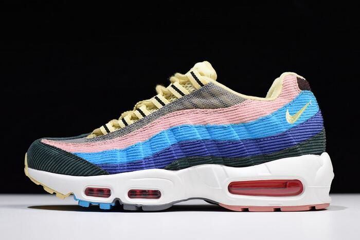 3580dcbeaf1f92 Sean Wotherspoon x Nike Air Max 97 95 VF SW Light Blue Fury Lemon Wash  AQ4219-400