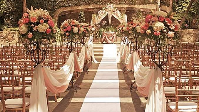 Wedding Ceremony in California