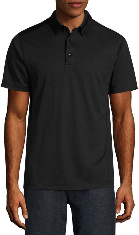 1b5bbb5a MSX BY MICHAEL STRAHAN Msx By Michael Strahan Short Sleeve Polo Shirt