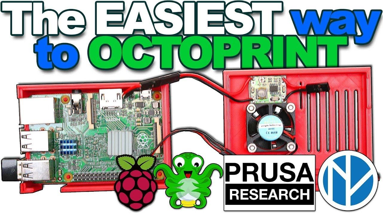 3D Printer S02 E04 - The Simplest Setup for OctoPrint on