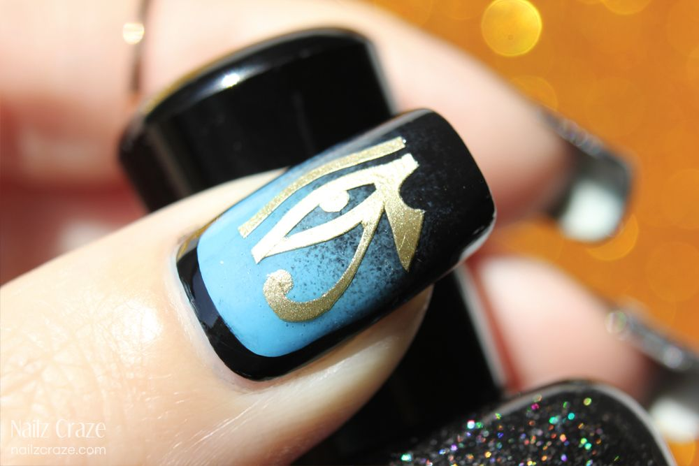Luxury Egyptian Nail Art Pattern - Nail Art Ideas - morihati.com