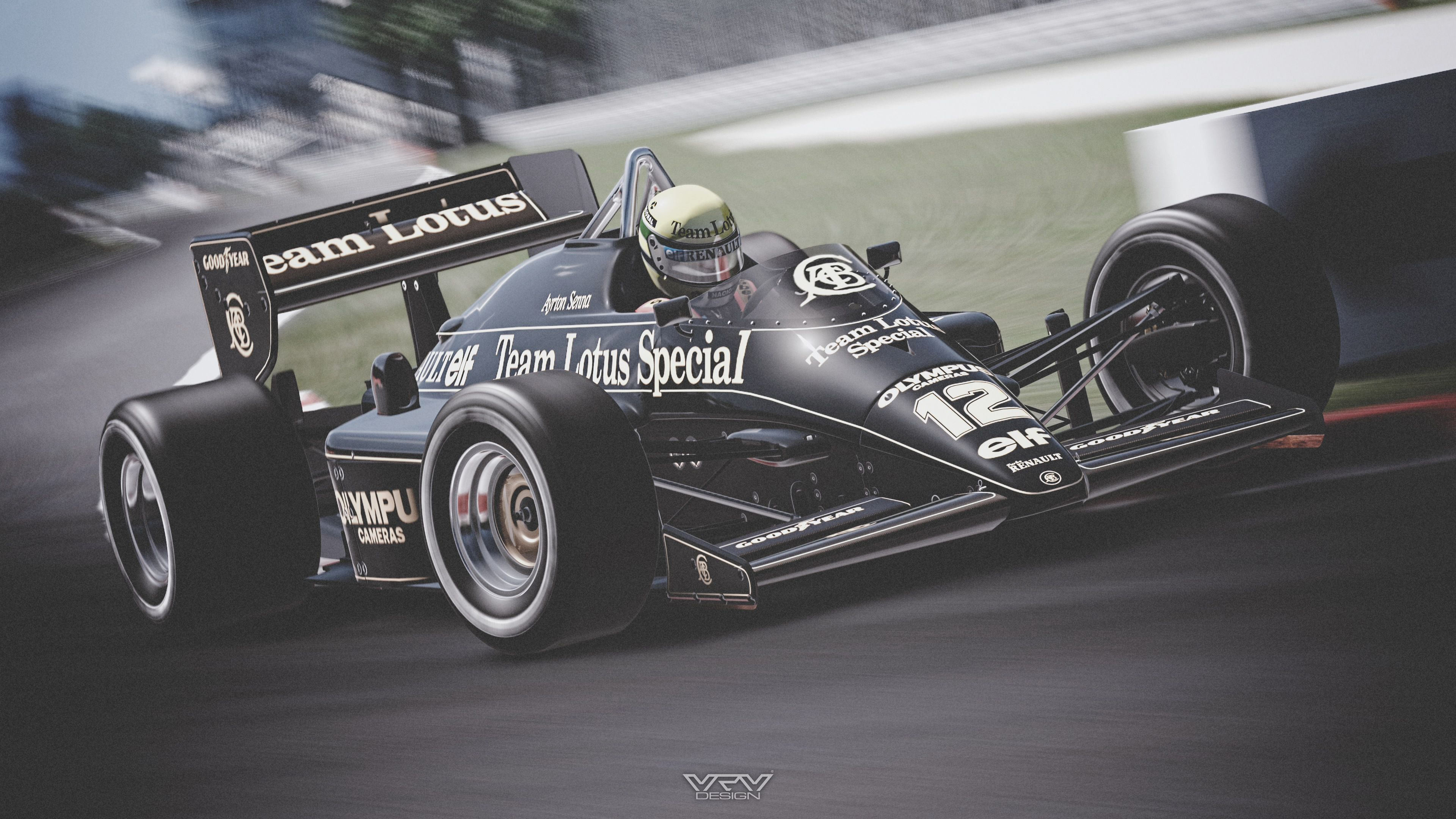 Ayrton Senna LOTUS 97T '85 - P03 by M2M-design.deviantart.com on @DeviantArt