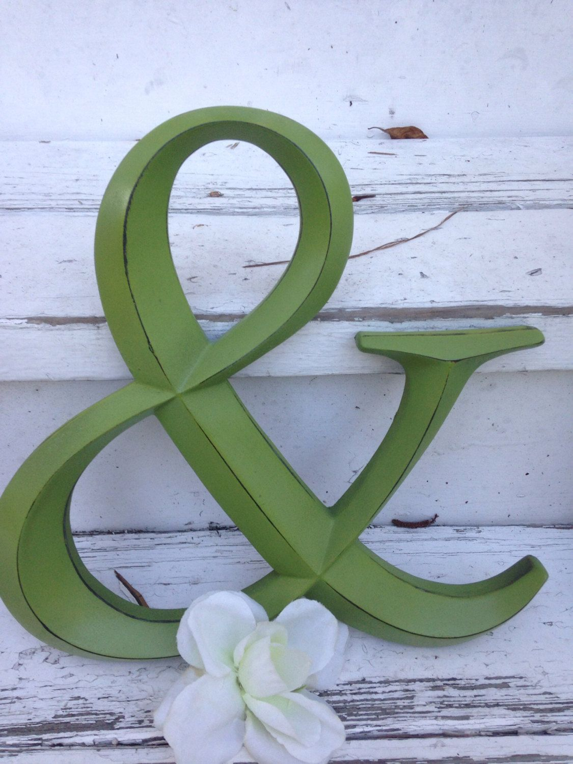 Wall Decor Ampersand Symbol Wedding Prop By Labellascottage