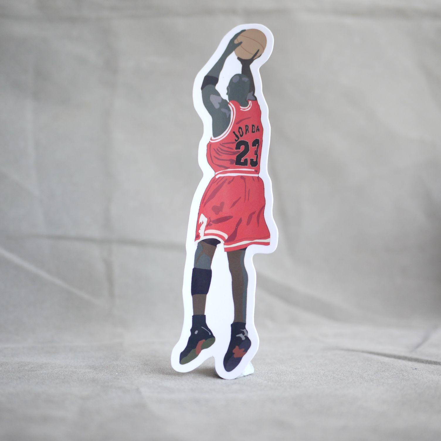 Michael Jordan Classic Last Shot Sticker