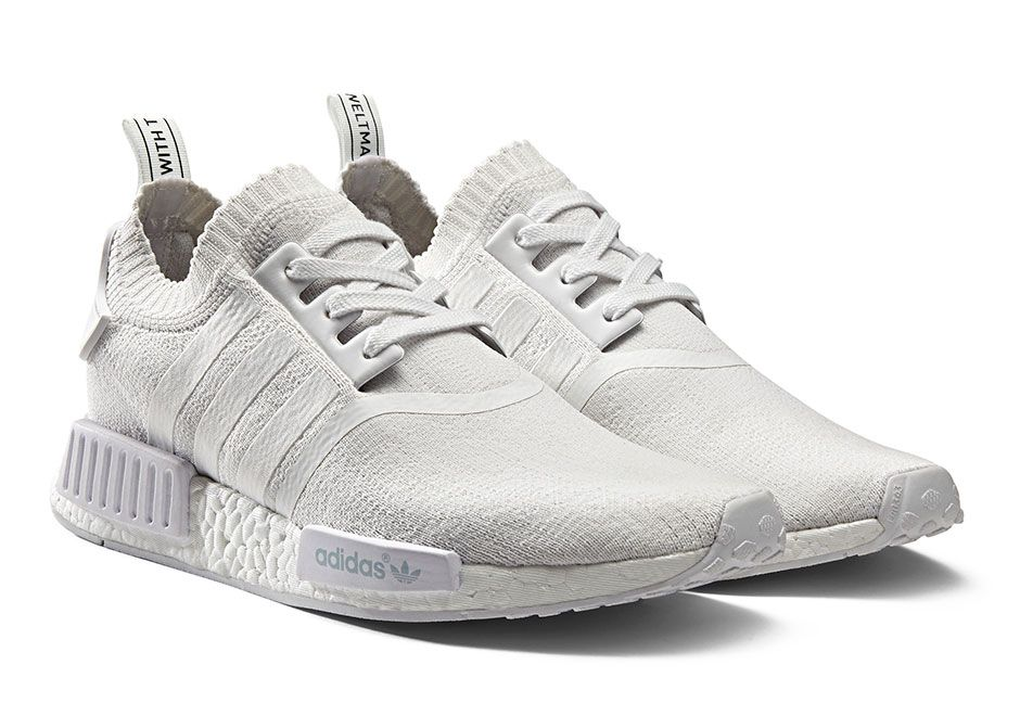 Trainer shoes � adidas-NMD_R1-Primeknit-Monochrome-Pack-Triple-White-01