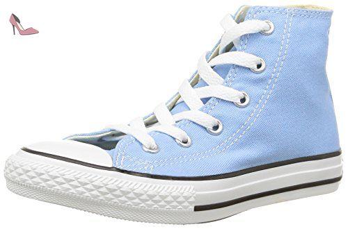 Converse CTAS Season Hi, Sneakers Hautes Femme, Bleu (Bleu Cyan), 36 EU