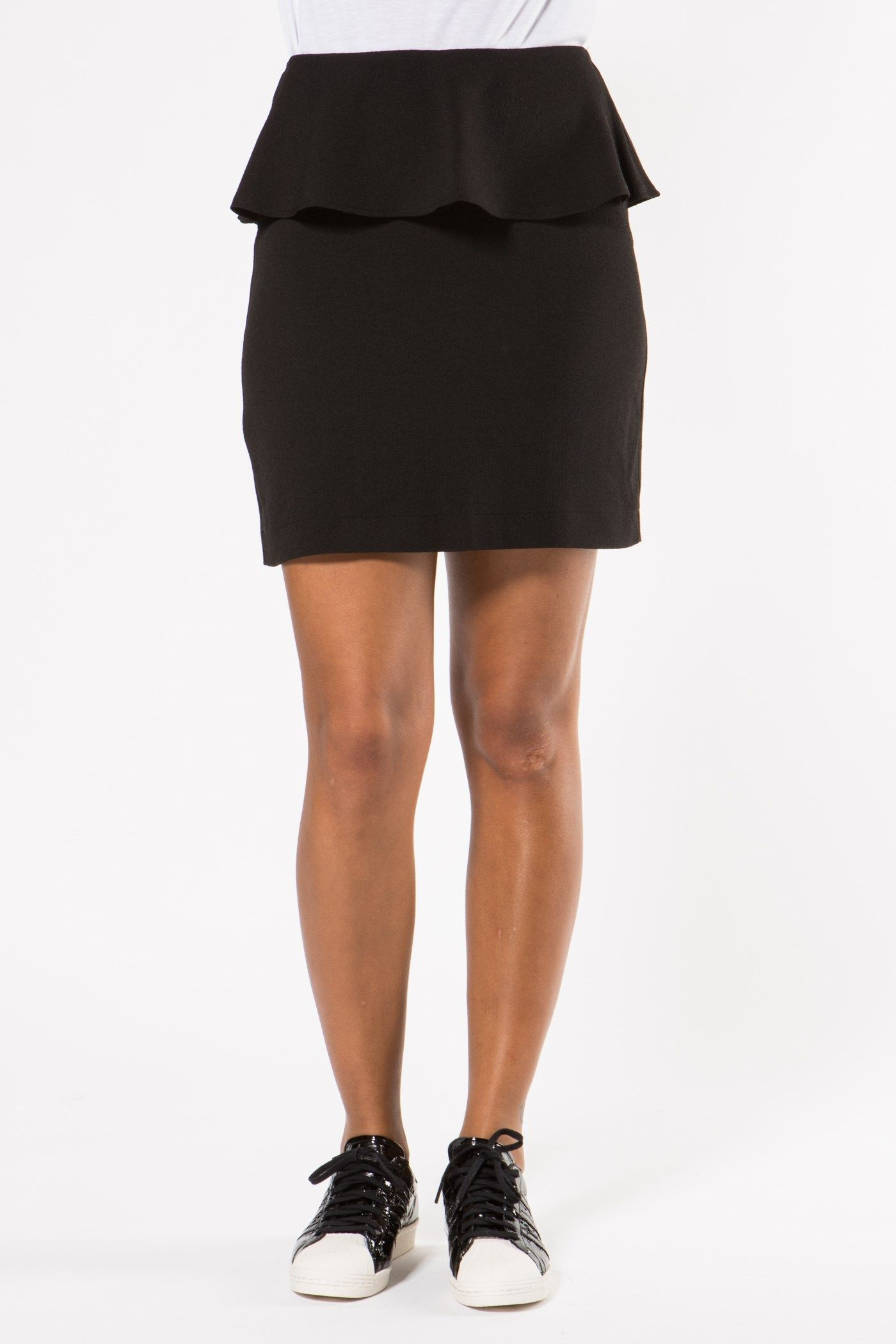 Ganni - Clark Skirt Black large-1