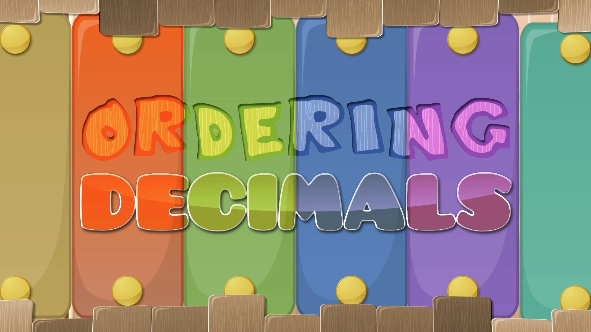 Ordering Decimals Activities Comparing Decimals Worksheets Video And More