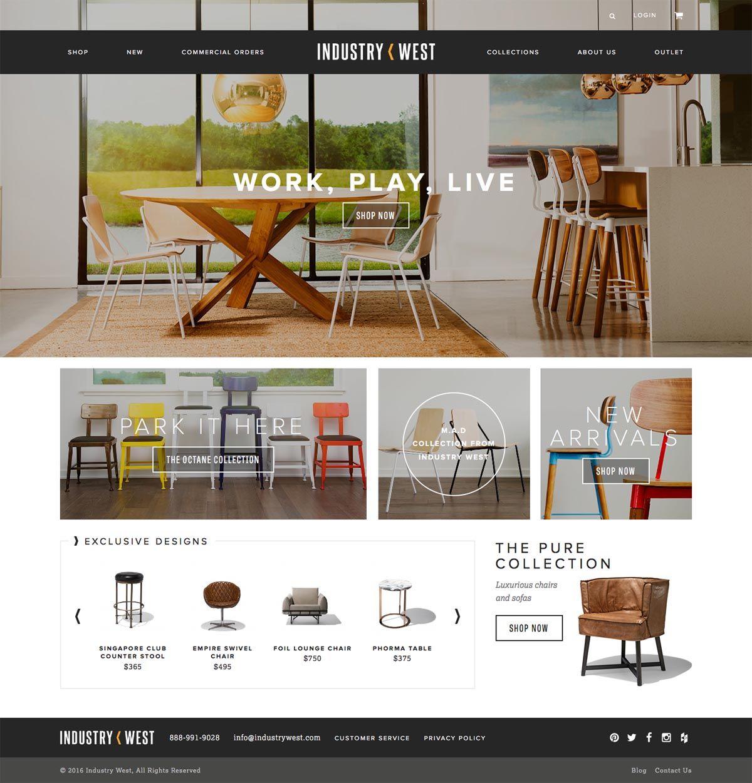 Ecommerce Inspiration, Ecommerce Website