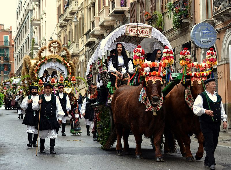 Festa di Sant'Efisio Cagliari Sardegna   #TuscanyAgriturismoGiratola
